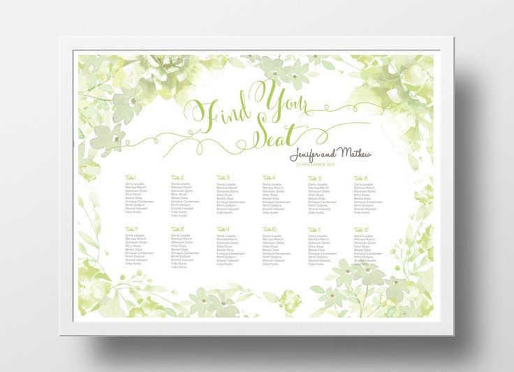 Wedding Chart. Wedding Seating Chart Diy Wedding Seating Chart ...