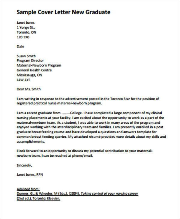 6+ Nursing Student Cover Letters - Examples in Word, PDF