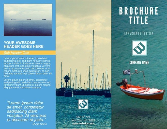 Free Brochure Templates & Examples [20+ Free Templates]