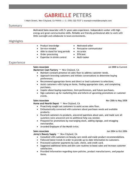 Sales Resumes Examples. Customer Service Representative Resume ...