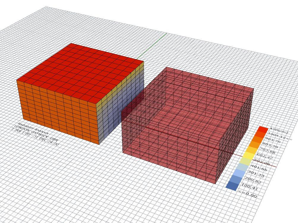 Radiation analysis in Ladybug for Grasshopper: Example file ...