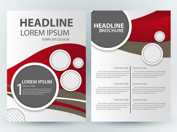 Pamphlet design free vector download (70 Free vector) for ...