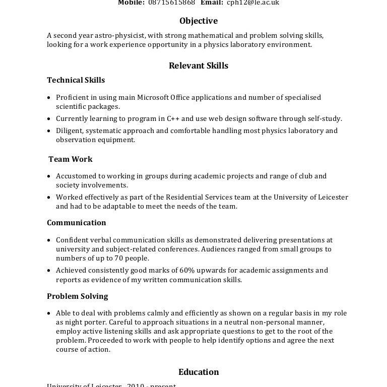 Prissy Design Skills On Resume Examples 11 Example Of Skills ...