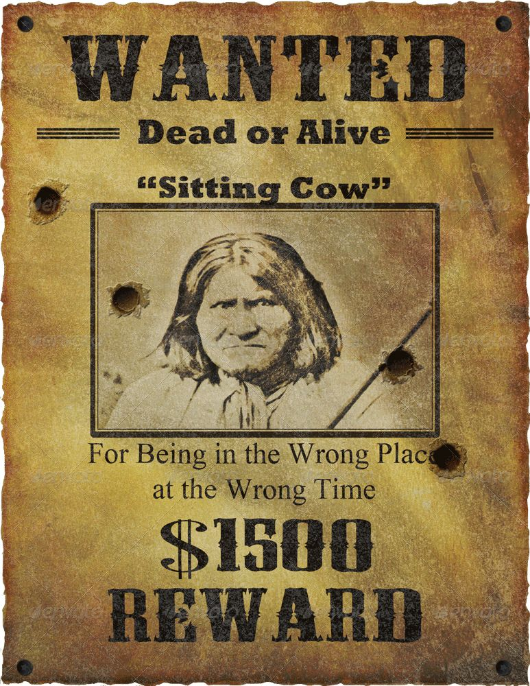 Wanted Poster Mock Up by Jipito   GraphicRiver