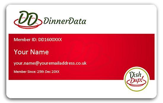 Membership Card – DinnerData