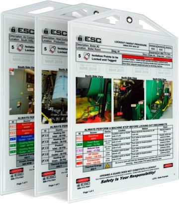 Lockout-Tagout Procedure Examples