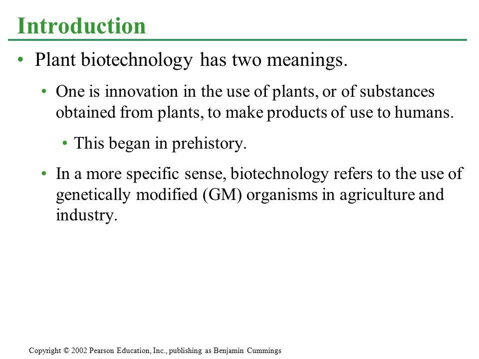 CHAPTER 38 PLANT REPRODUCTION AND BIOTECHNOLOGY - ppt download