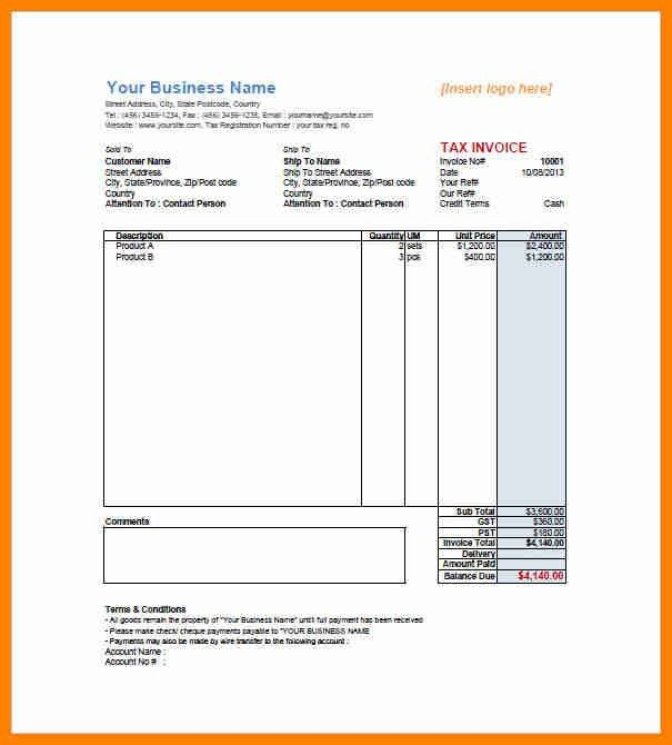 10+ retail invoice format | forklift resume