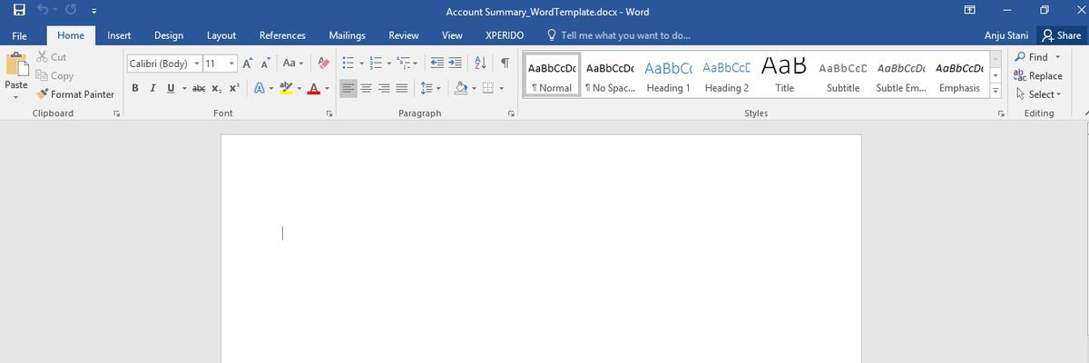 Word Templates in Dynamics CRM - Dynamics 365 Blog