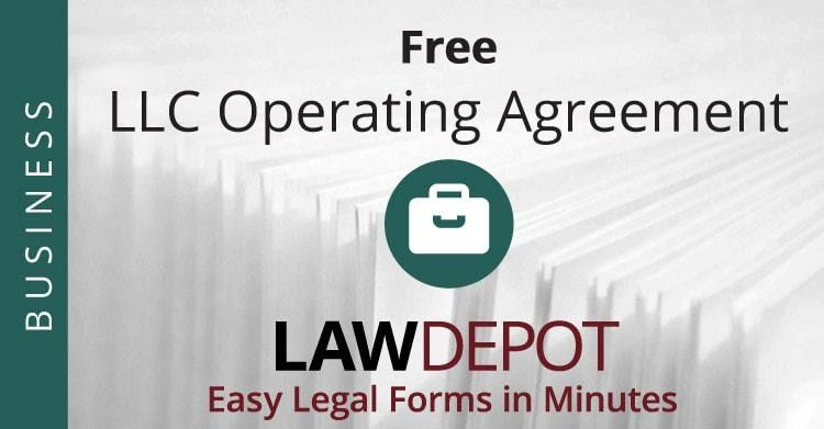 LLC Operating Agreement | Free LLC Operating Agreement Template ...