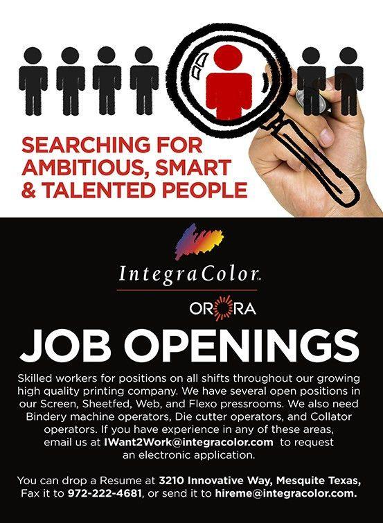 Jobs - IntegraColor