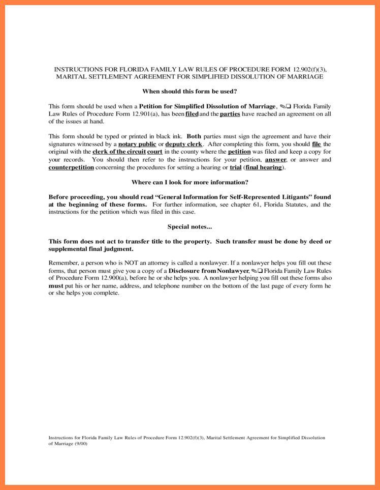 6+ marital settlement agreement | Marital Settlements Information
