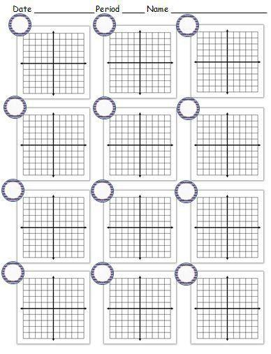 Cartesian Graph Paper. Graph Paper Template 14 30+ Free Printable ...