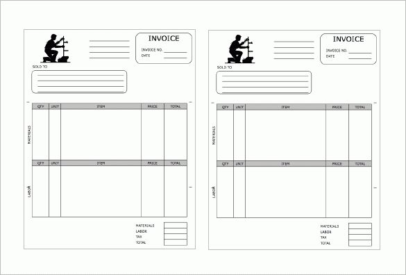 Plumbing Receipt Template – 8+ Free Sample, Example, Format ...