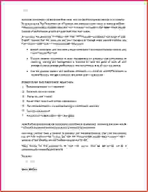5+ example of a business proposal | Procedure Template Sample