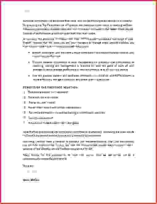 7+ sample business proposal | Procedure Template Sample