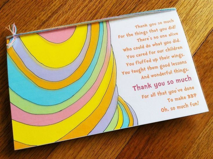 Best 25+ Teacher thank you notes ideas on Pinterest | Teacher ...