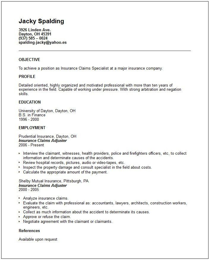 Profile Examples For Resumes. Resume Profile Examples Resume ...