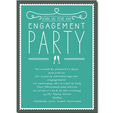 Engagement Party Invitation Wording For You | THEWHIPPER.COM