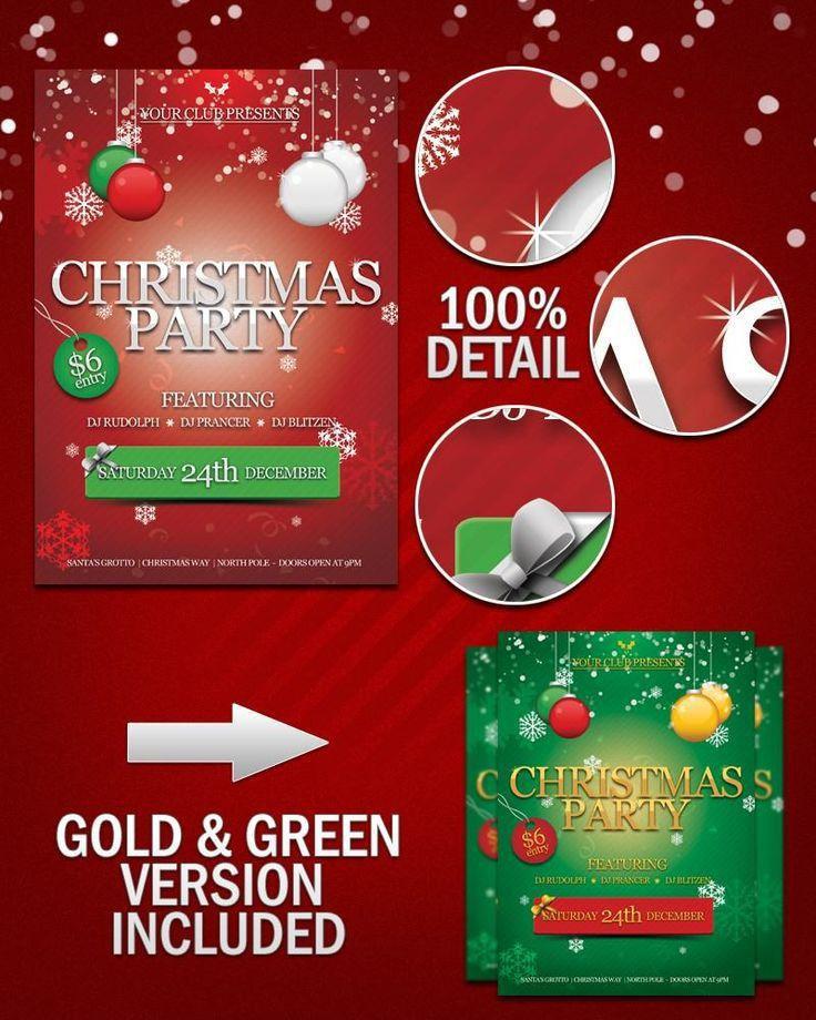 Free Xmas Invitation Templates. free christmas party invitations ...