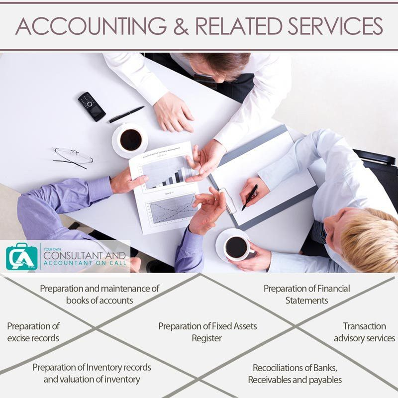 Your own Consultant and Accounting Services on Call