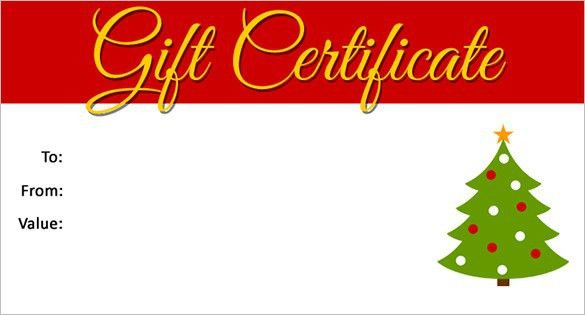 Christmas Gift Card Templates Free | Best Example Of Business Template