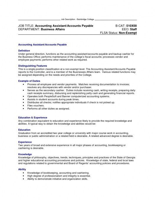 Accounting Specialist Job Description Medical Coding Specialist