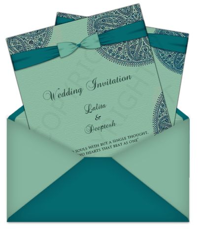 Letter Style Indian/Asian Email Wedding Card 4 – Luxury Indian ...