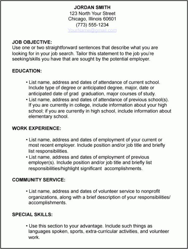 job-resume-6 - Resume Cv