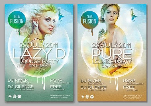 160 Free and Premium PSD Flyer Design Templates - Print Ready ...