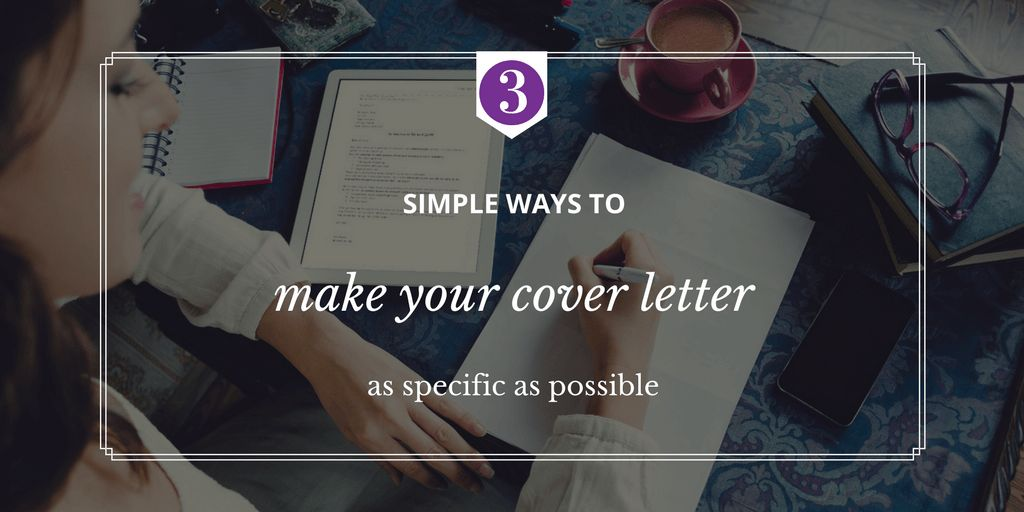 How to Write a Winning Cover Letter | ETC - Enterprise and ...