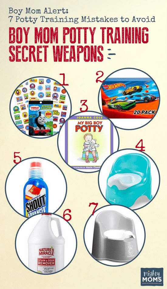 7 Boy Potty Training Mistakes You'll Want to Avoid - MightyMoms.club