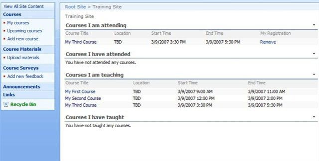 Training Site Template – Part 1: Introduction – Microsoft ...