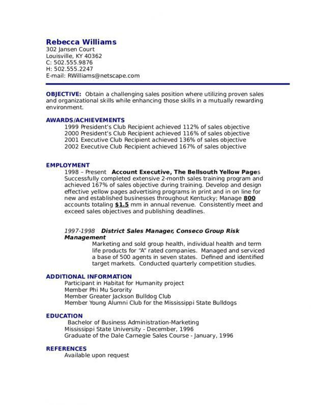 Resume : Resume Objective Examples How To Write A Resume Objective ...