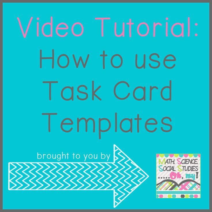 65 best Task Cards/SCOOT images on Pinterest | Teaching ideas ...