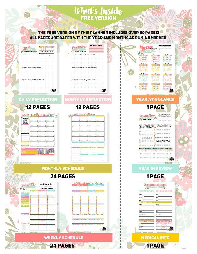 The Ultimate Pioneer Planner™ FREE Download! - JW Printables
