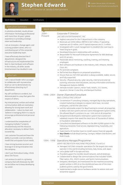 It Director Resume | haadyaooverbayresort.com