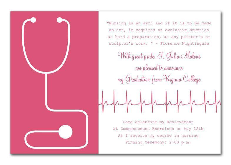 Fancy and Minimalist High School Graduation Invitation Template ...