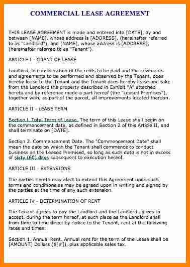 7+ lease contract example | cinema resume