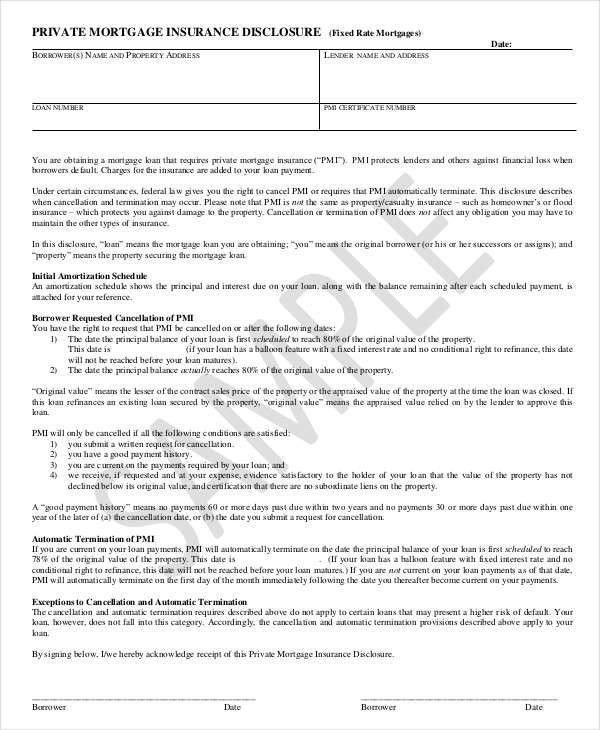 8+ Mortgage Contract Templates - Free Sample, Example, Format Download