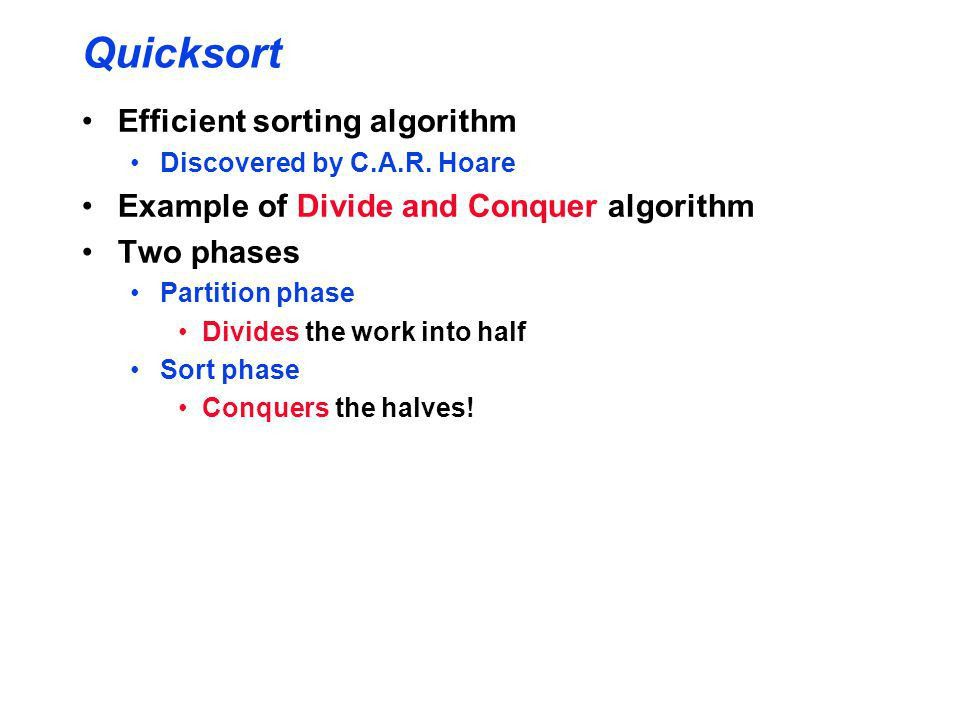 Recursive sorting: Quicksort and its Complexity - ppt video online ...