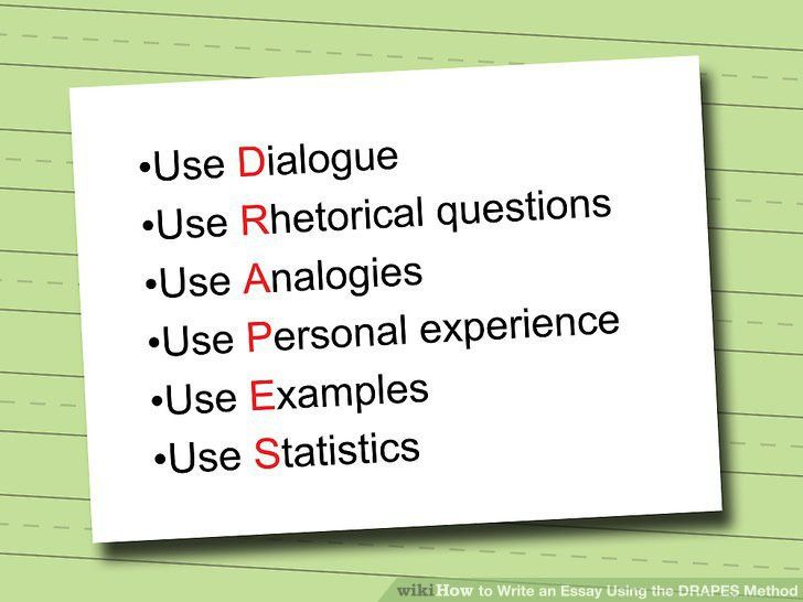 How to Write an Essay Using the DRAPES Method: 4 Steps