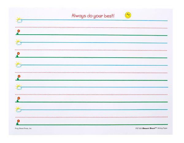 preschool/kindergarten handwriting paper | Classroom Ideas ...