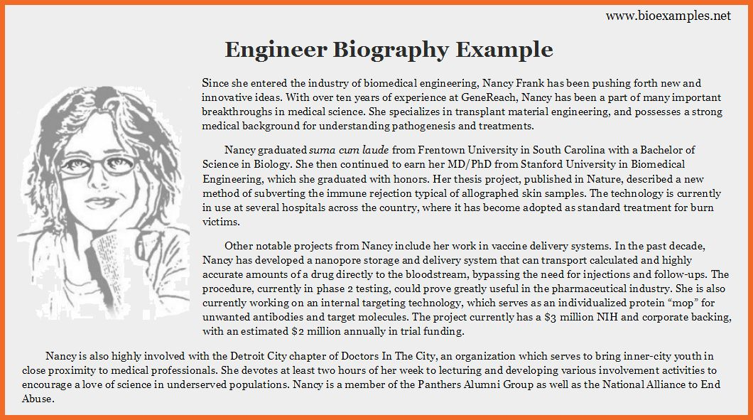 example of biography | sop example