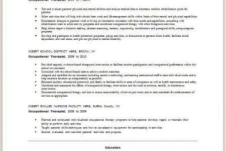 speech therapy resume speech therapy resume school speech, Sample ...