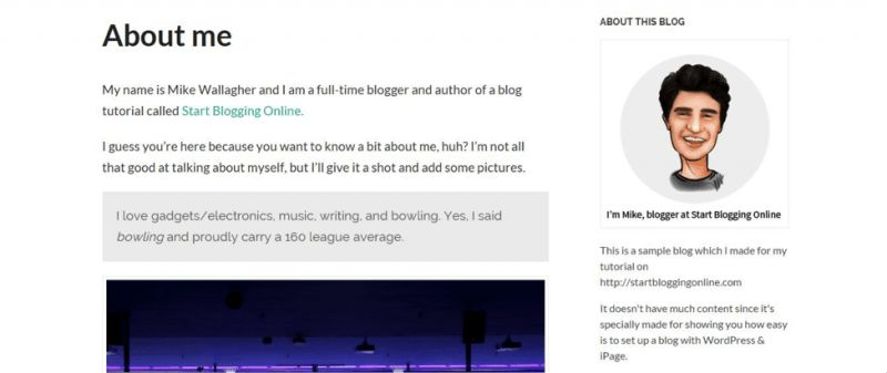 5 Tips On How To Write The Perfect About Me Page (With Examples)