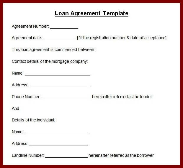 14+ personal loan agreement template | sendletters.info