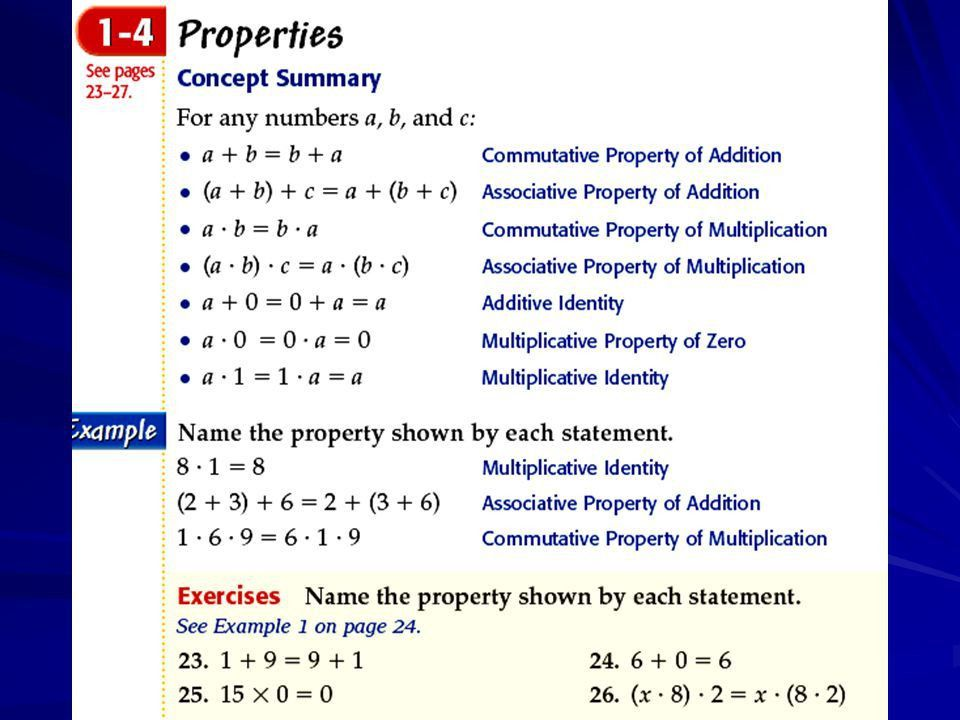 Lesson 1-4 Pages Properties Lesson Check ppt download
