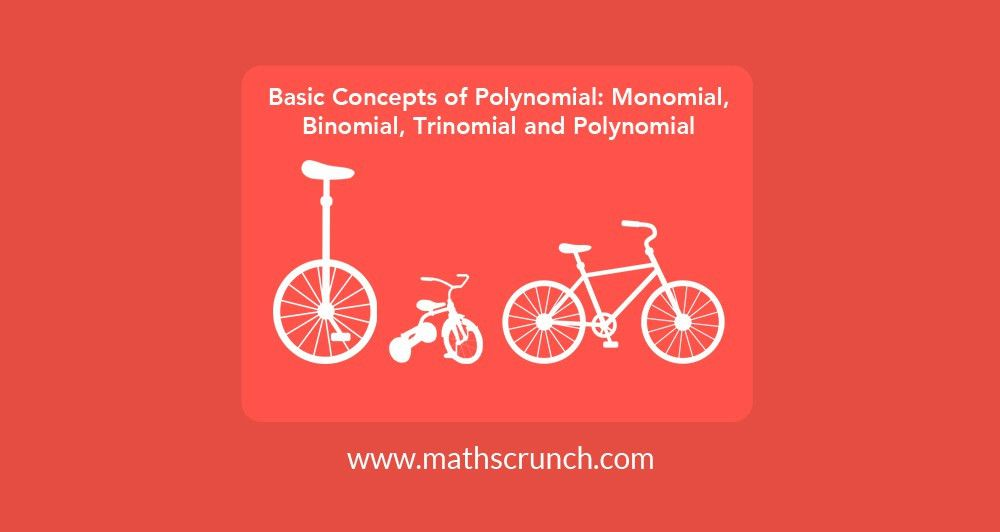 Basic Concepts of Polynomial: Monomial, Binomial, Trinomial and ...