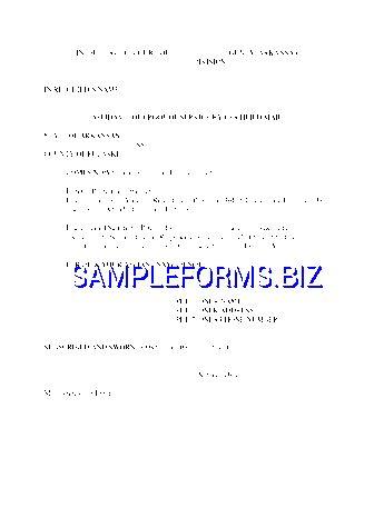 Affidavit Form templates & samples